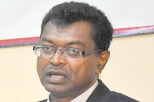 Guyana's Public Security Minister, Khemraj Ramjattan.