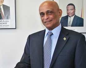 former Guyana High Commissioner to Canada, Harry Narine Nawbatt