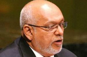Former President, Donald Ramotar