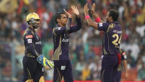 Sunil Narine will be available to play for Kolkata Knight Riders © BCCI