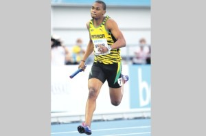 Olympian Warren Weir is expected to grace the track today. (Jamaica Observer photos)