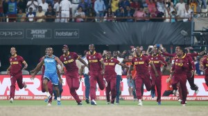 Damien O'Donohoe hoped this win will help West Indies cricket to grow and reach their peak. (Source: AP)