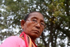 Birubala Rabha has campaigned relentlessly against witch hunting (Subhamoy Bhattacharjee photo)