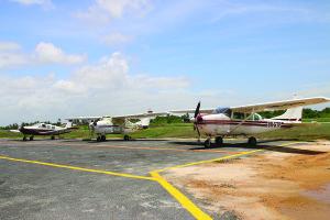 The $10.5 million Aircraft Parking Ramp