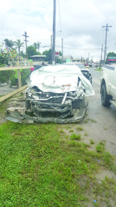 The car that was driven by the Police Constable