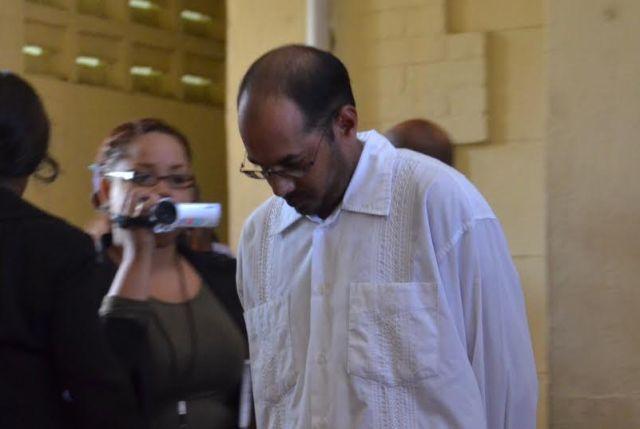 REMANDED: the reputed husband of Babita Sarjou