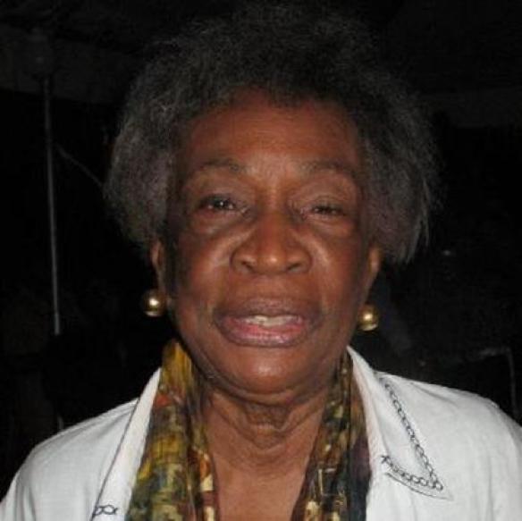 The late Mrs. Christobel Hughes, mother of Nigel Hughes