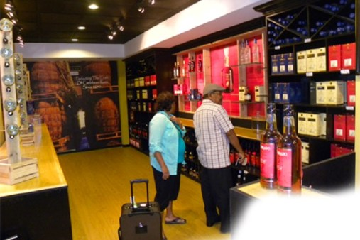 Passengers and duty free concessionaires in Guyana have been complaining that duty free items are being dumped in Trinidad once they were bought in Guyana. (Photo: Caribbean360.com)
