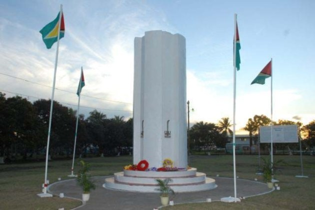 The Enmore Martyrs' Monument was unveiled on June 16, 1977