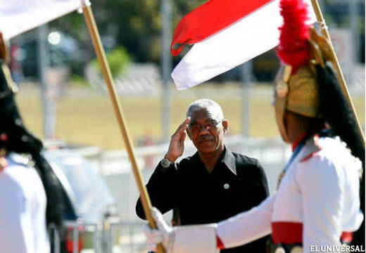 President Brigadier David Granger has since labelled the situation as unacceptable (File photo, EL UNIVERSAL)