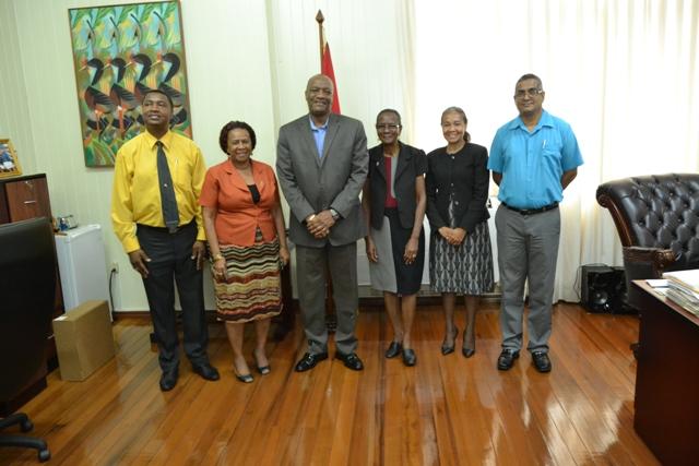 Minister Joseph Harmon and the MOTP national awardees