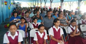 A section of the gathering at the Fisherfolk Day