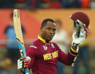 Marlon Samuels top-scored with 92 as West Indies chased down 266 to beat Australia at Warner Park last Wednesday.