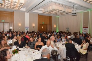 A section of the attendees at last evening's Tourism and Hospitality Association of Guyana Awards Ceremony and dinner at the Marriott hotel