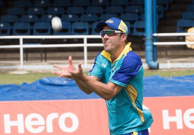 Barbados Tridents star batsman AB de Villiers (CPL photo)