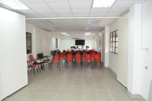 Training room, ground floor, Georgetown Public Hospital Corporation's new maternity wing