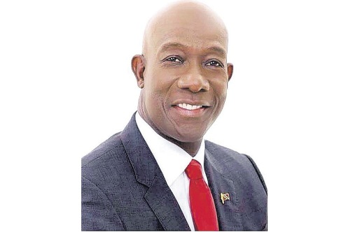 Prime Minister of Trinidad and Tobago, Dr Keith Rowley