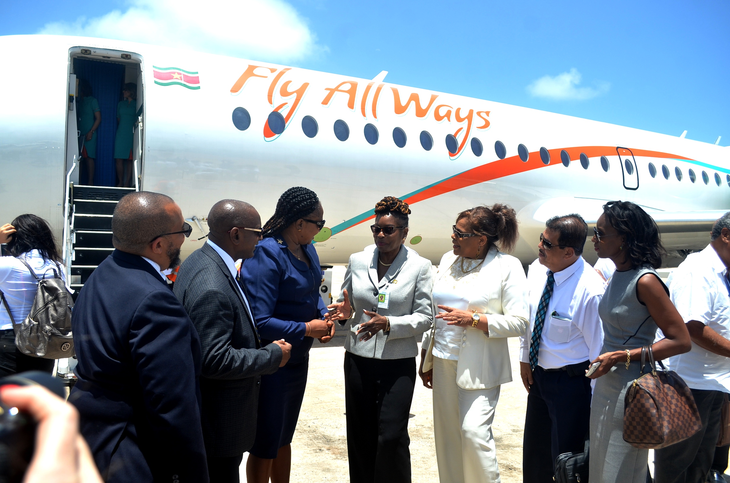 fly allways enters guyana market with flights to barbados