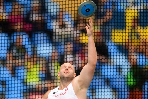Poland's Piotr Malachowski competes in the Men's Discus Throw Qualifying Round during the athletics event at the Rio 2016 Olympic Games at the Olympic Stadium in Rio de Janeiro on August 12, 2016. (Photo: AFP)