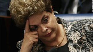 OUSTED: Dilma Rousef