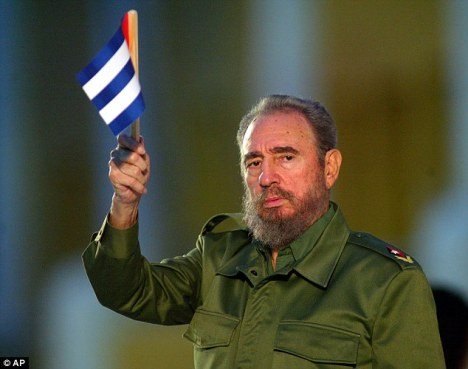 Former Cuban leader Fidel Castro, pictured during a speech in 2003.