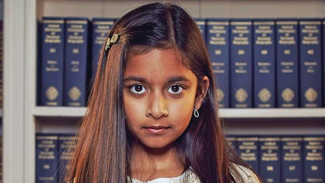 Rhea, a 10-year-old Indian-origin girl, was crowned Britain's brightest child after she won a popular television quiz competition in the UK. (Channel 4 Screengrab)