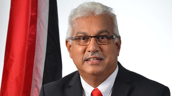 T&T Health Minister Terrence Deyalsingh