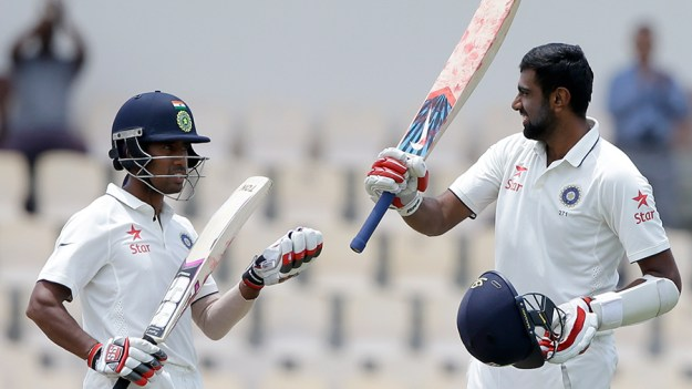 R Ashwin and Wriddhiman Saha scored centuries(Associated Press photo)