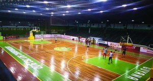 The renovated Sports Hall