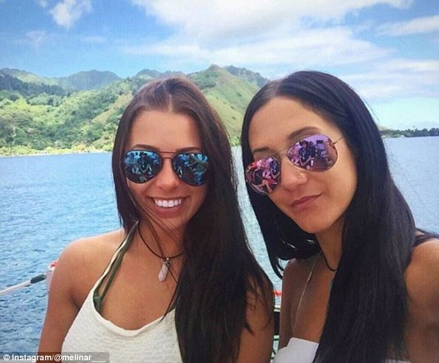 Melina Roberge, 22, (left) and Isabelle Lagacé, 28, (right) were arrested on Sunday on suspicion of smuggling $30 million (US$23 million) worth of cocaine into Australia