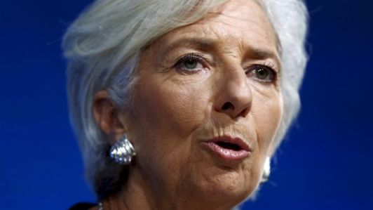 IMF chief Christine Lagarde (BBC photo)