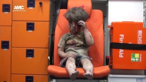 Omran Daqneesh (CNN photo)