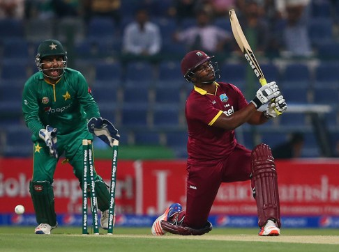 Johnson Charles was one of three West Indies batsmen bowled by Imad Wasim(Photo:  Getty Images)