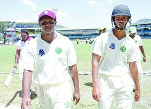 The father and son (Shivnarine (left) and Tagenarine Chanderpaul) combination will be in action once again