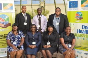 Minister Cummings and members of the team that attended the workshop