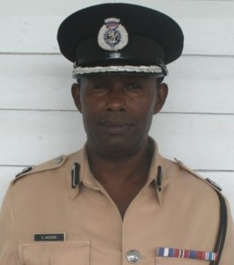 "Police ""A"" Division Commander, Clifton Hicken"