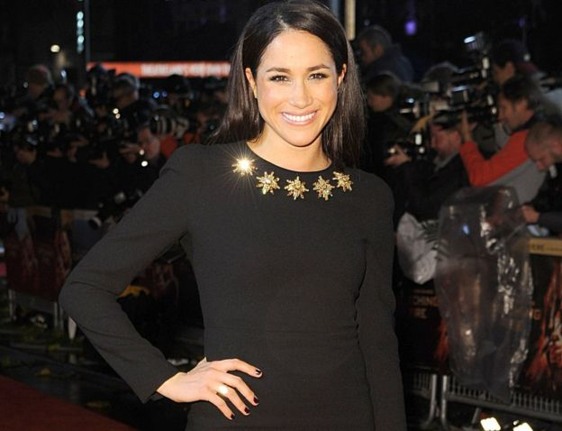 Meghan Markle's other acting credits include the 2011 movie Horrible Bosses (AP photo)