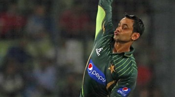 Mohammad Hafeez will continue to be monitored by the umpires(AP photo)