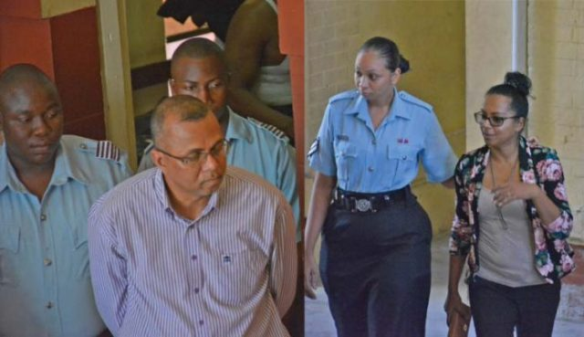Former General Manager of the Guyana Marketing Corporation (GMC), Nizam Hassan and co-accused Felicia De'Souza-Madramootoo were on Monday slapped with fraud related charges when he appeared before Chief Magistrate Ann McLennan in the Georgetown Magistrates' Courts
