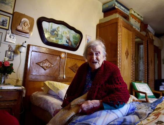Emma Morano, 116, is the oldest living person in the world (Photo: OLIVIER MORIN/AFP/Getty)