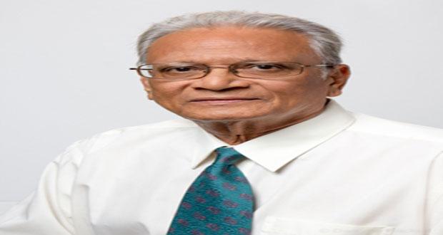 Education Minister, Dr Rupert Roopnaraine