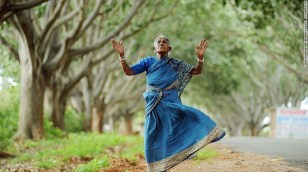Mother nature – Now aged 105, Saalumarada Thimmakka has battled the arid conditions of southern India to grow nearly 300 trees on the road from her village.