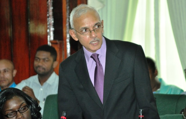 Communities Minister  Ronald Bulkan