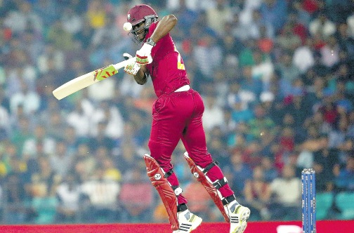 BRATHWAITE... I'm delighted, really thrilled to win an international award (Photo: WICB)