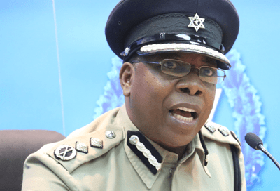 Acting Police Commissioner Stephen Williams