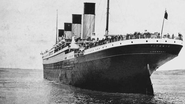 The original ship set sail from Southampton bound for New York