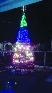 New Amsterdam Prison had a grand Christmas tree light-up ceremony with the general community participating as well