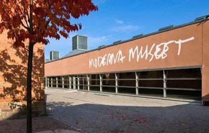 Stockholm - Olafur Eliasson on exhibition at Moderna Museet