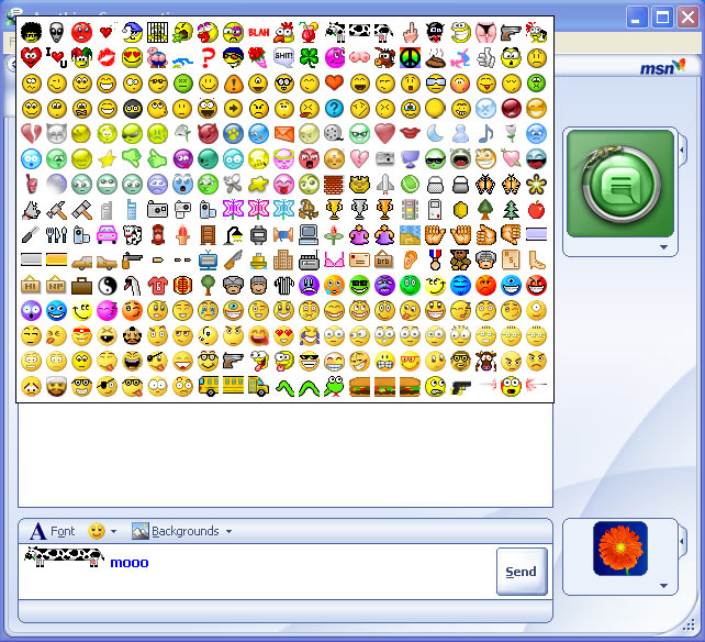 Emoticons pesonalizados para MSN Messenger