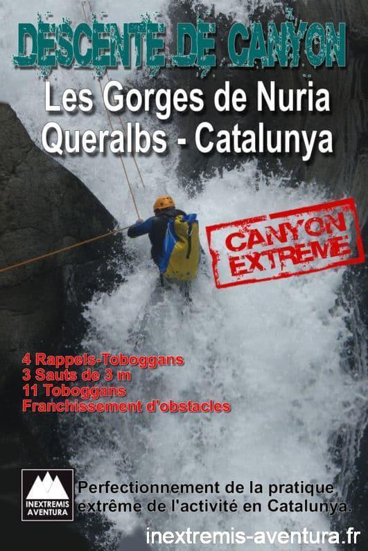 Canyoning Gorge de Nuria - Jean Vilallongue